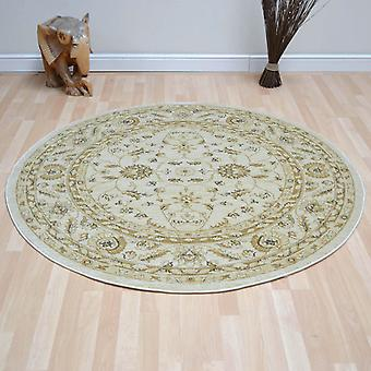 Ziegler Circular Rugs 7709 In Cream