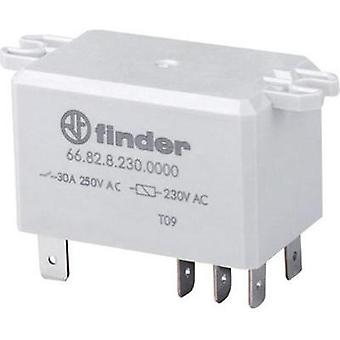 Finder 66.82.9.024.0300 - 30A Flange Mount Power Relay 24Vdc 2 NO, DPST-NO
