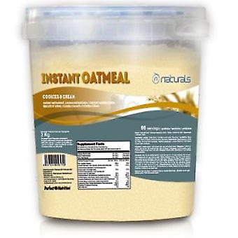 N Naturals Instant Oatmeal Cookies & Cream (Sport , Smoothies and Shakes)