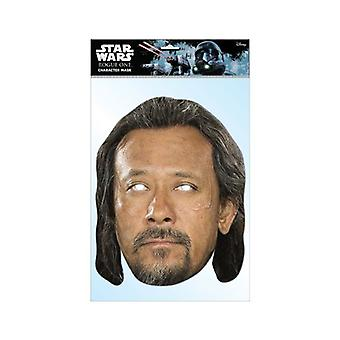 Baze Malbus Rogue One: A Star Wars Story Single 2D Card Party Face Mask