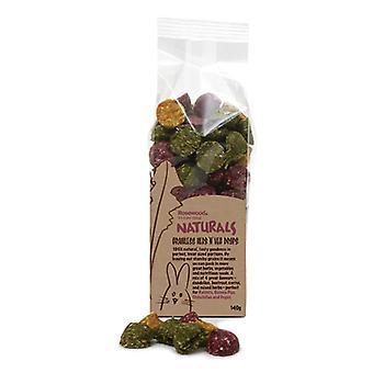 Productos naturales del Prado Hay galletas 1kg (paquete de 4)