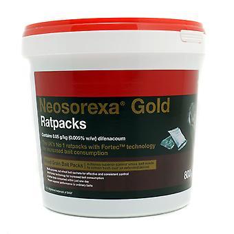 Neosorexa Gold Rat Pack Rat & Mouse Bait Sachets 800g
