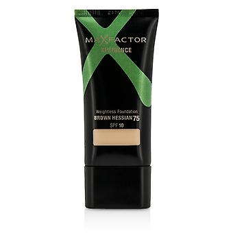 Max Factor Xperience Weightless Foundation SPF10 - #75 Brown Hessian 30ml/1oz