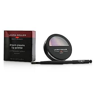 Laura Geller Dream Creams Lip Palette With Retractable Lip Brush - #Raspberry - 8ml/0.27oz