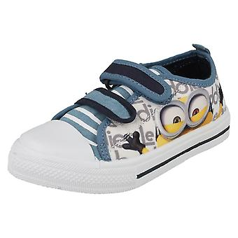 Boys Character Despicable Me Minions Hastings Low Cut Canvas