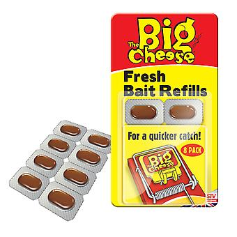 The Big Cheese Fresh Bait Refill Pk8 (Pack of 15)