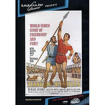 Damon y Pitias (1962) [DVD] los E.e.u.u. la importación