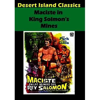 Maciste in King Solomon's Mines [DVD] USA import