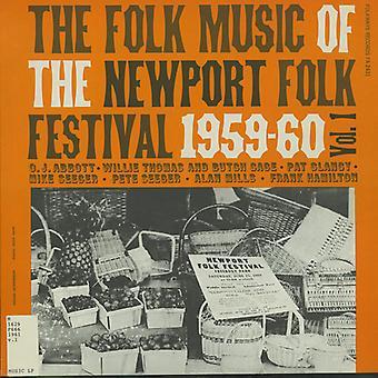 Volksmusik des Newport Folk Festival - Vol. 1-Volksmusik von der Newport Folk Festival [CD] USA import