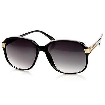 Damer mode Mid mellemstore firkantede ramme dame solbriller