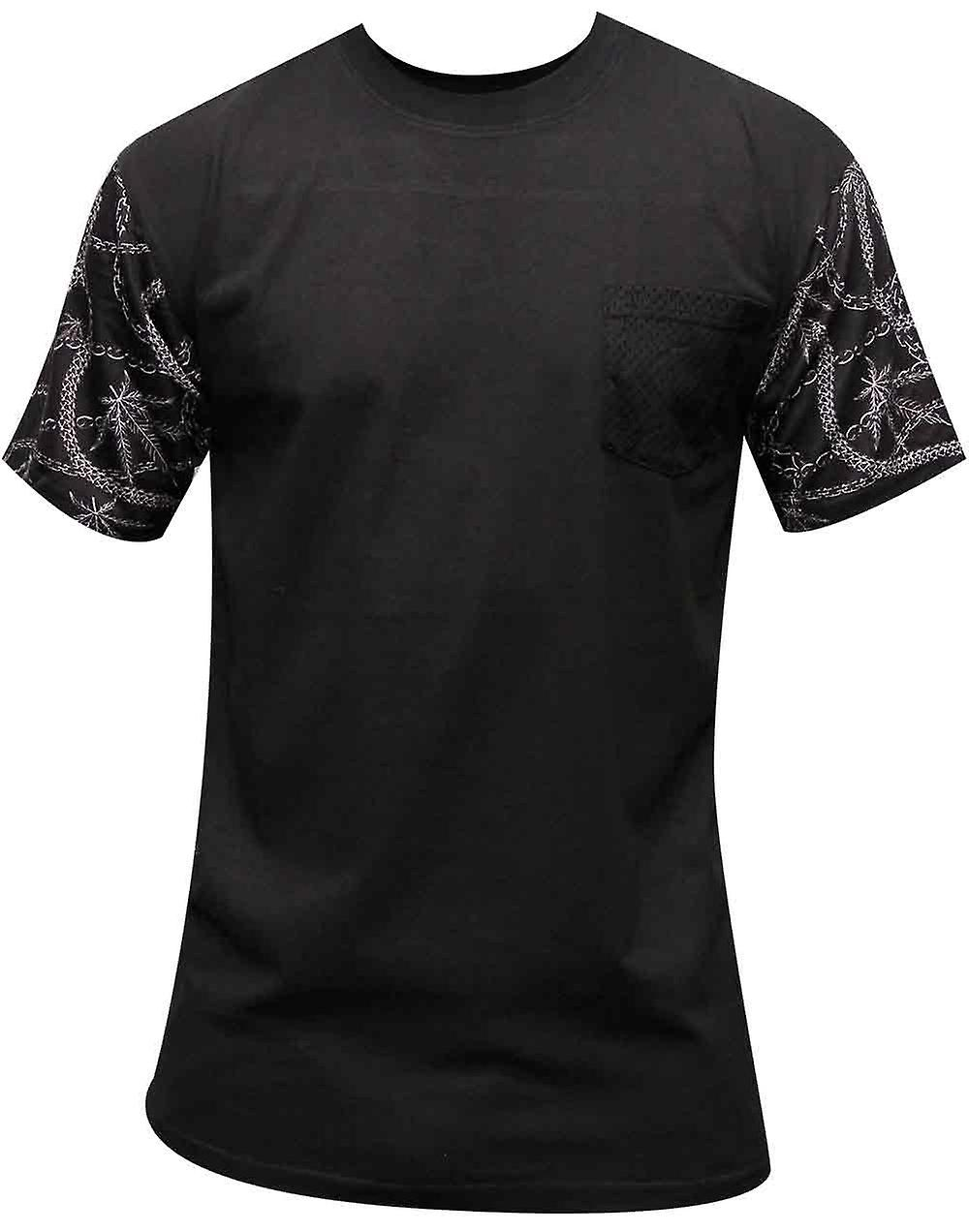 Crooks & Castles Chainleaf Pocket T-shirt Black Multi