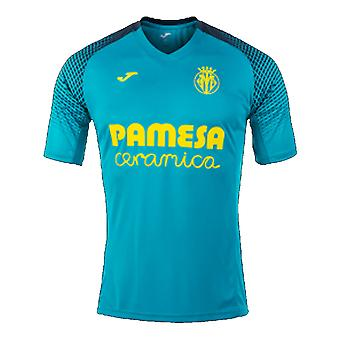 2017-2018 Villarreal Joma Training Shirt (Blue)