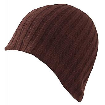 Dents Knitted Beanie - Chocolate Brown