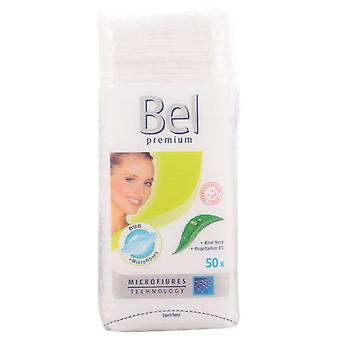 Bel 50 Pieces Premium Square Records (Woman , Makeup , Nails , Nail polish remover)