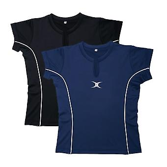 Gilbert netbal Phoenix Top X Small Zwart