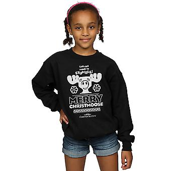 National Lampoon's Christmas Vacation Girls Merry Christmoose Sweatshirt