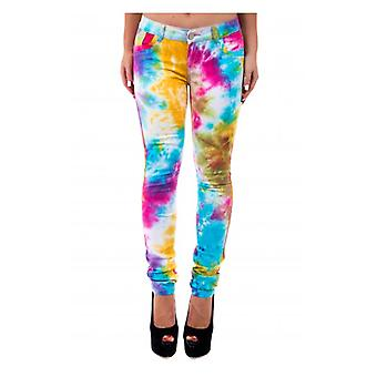 The Fashion Bible Limited Edition Tie Dye Soft Touch Jeans