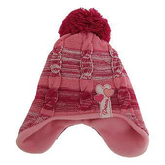 Nursery Time Baby Girls Bobble Hat