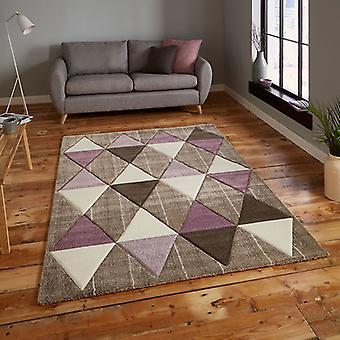 Rugs -Brooklyn - 21896 Beige / Purple