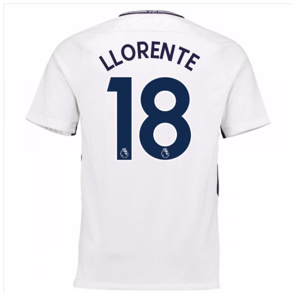 2017-18 Tottenham Home Shirt (Llorente 18) - Kids