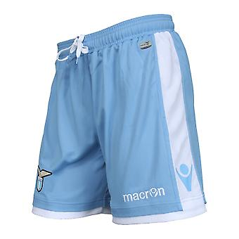 2016-2017 Lazio Macron Home Shorts (Blue)