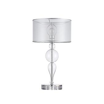 Maytoni Lighting Bubble Dreams Modern Collection Table Lamp, Chrome