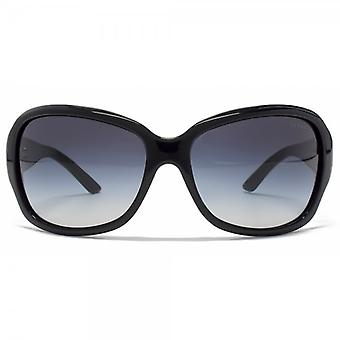 Ralph By Ralph Lauren Wesentliche Wrap Sunglasses In Black