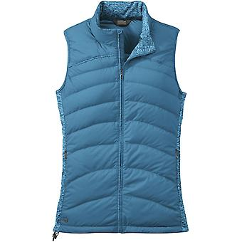 Outdoor Research Womens PLaza Down Vest Oasis (UK Size 10)