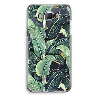 Samsung Galaxy J5 (2016) Transparent Case - Banana leaves
