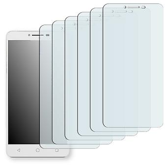 Alcatel A3 XL screen protector - Golebo crystal-clear protector (deliberately smaller than the display, as this is arched)