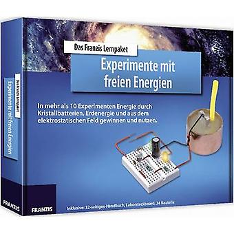 Course material Franzis Verlag LP Experimente mit freien Energien 978-3-645-65277-3 14 years and over
