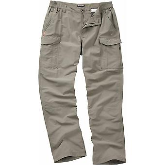 Craghoppers Mens NosiLife Cargo Travel Trousers Yellow