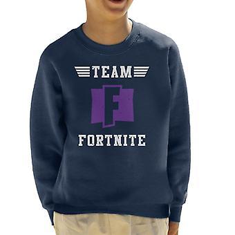 Team Fortnite Kid's Sweatshirt
