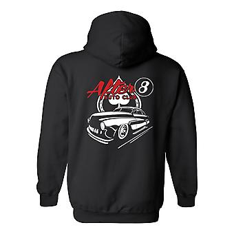 Homme / unisexe Pullover Hoodie Cool après 8 Hot Rod Auto Club