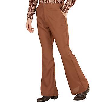 GROOVY 70'S MAN PANTS - BROWN