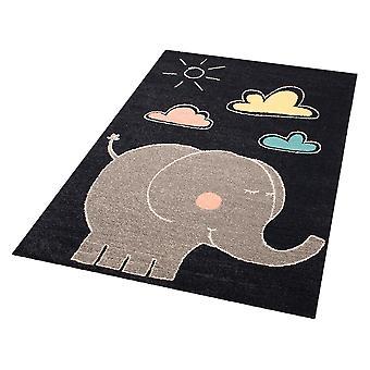 Kinderen tapijt tapijt olifant Jumbo 120 x 170 cm. Tapijt kwekerij
