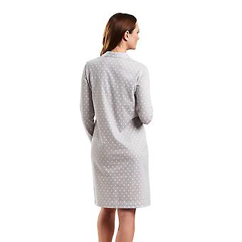 Rosch 1183537-12554 vrouw Smart Casual Cloud Grey gespot Night Gown Lounge Pyama