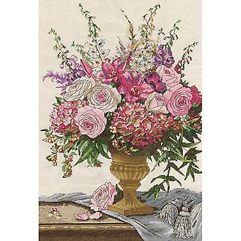Symphony Bouquet Counted Cross Stitch Kit-15