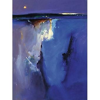 Impressão de cartaz horizonte violeta por Peter Wileman (23 X 31)