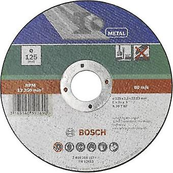 Taglio disco (dritto) 125 mm 22,23 mm Bosch Accessori A 30 S BF 2609256317 1/PC