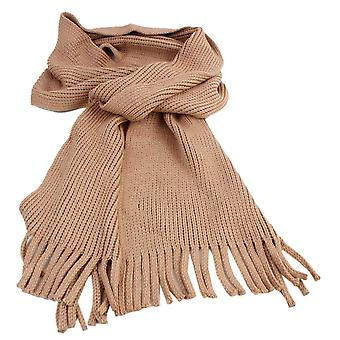 Bassin and Brown Schultz Plain Scarf - Light Brown
