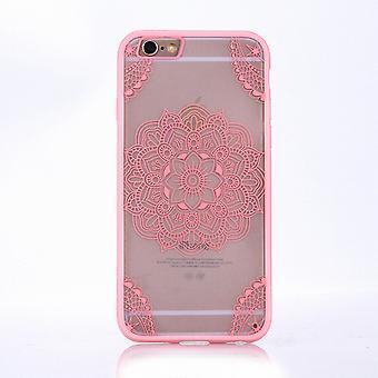 Mandala mobile caso per Apple iPhone 7 progettazione Custodia cover motivo della borsa indiana coperchio paraurti Rosa