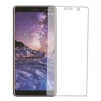 Nokia 7 Plus Displayschutzfolie 9H Verbundglas Panzer Schutz Glas Tempered Glas