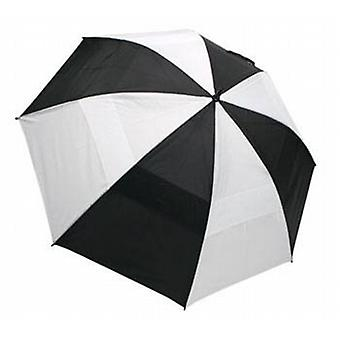 Wind Cheater Umbrella Black/White