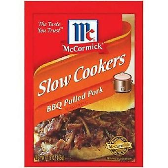 McCormick Slow Cookers BBQ Pulled Pork Seasoning Mix 1.6 oz Packet