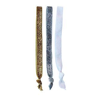 3 Glitter Head Bands