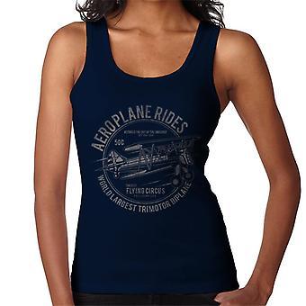 Aeroplane Rides Retro Logo Women's Vest