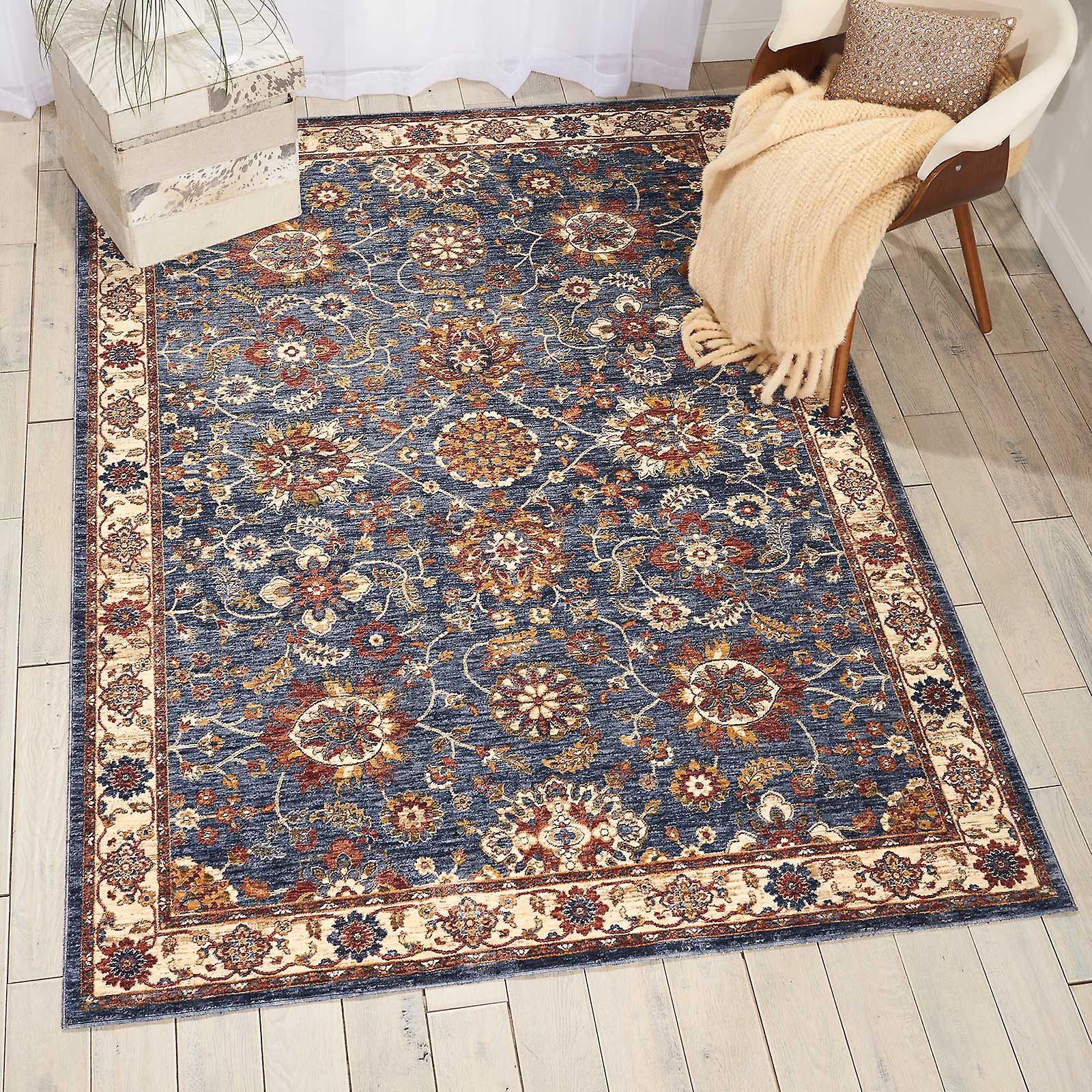 Lagos Rugs By Nourison Lag04 In bleu