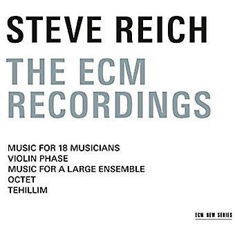 Steve Reich - Steve Reich-the Ec [CD] USA import