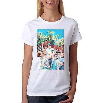 Sandlot Color Poster Women's White T-shirt